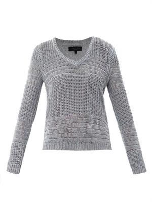 Janice  textured knit sweater