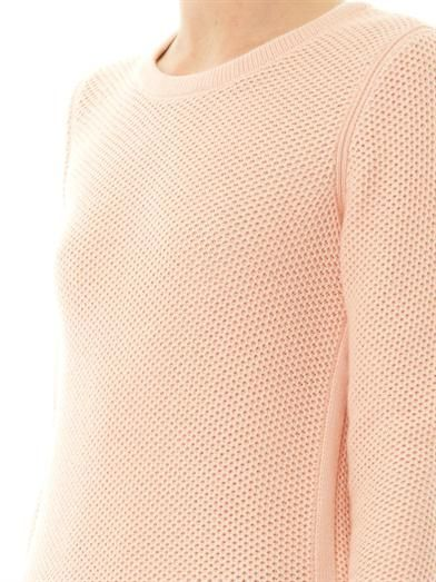 Rag & Bone Rita crew-neck textured-knit sweater