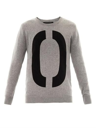 Rag & Bone Number cotton-knit sweatshirt