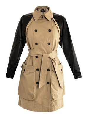 Bishop trench coat