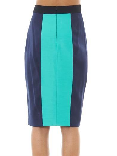 Roksanda Colour-block pencil skirt