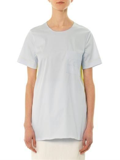 Roksanda Baynes contrast-panel blouse
