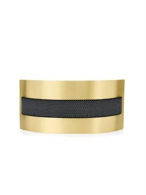 Metal-plate elasticated belt