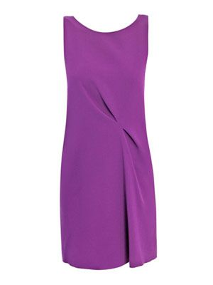 Lambton crepe dress