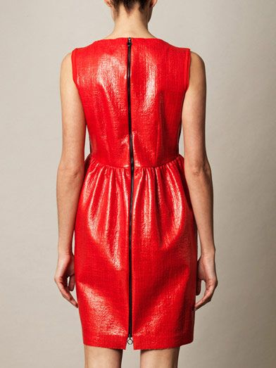 Roksanda Sadler laminated dress