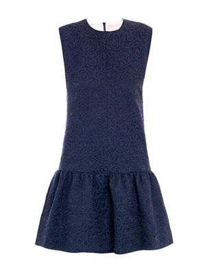 Edwin bi-colour jacquard dress