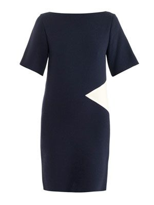 Jarrett diamond crepe dress