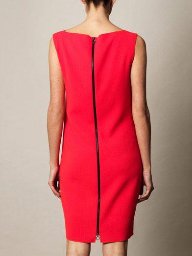 Roksanda Ellis panelled crepe dress