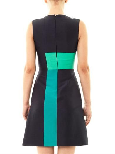Roksanda Bronti silk dupion fitted dress