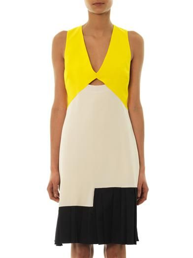 Roksanda Eylia colour-block dress