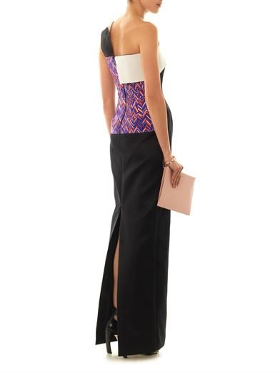 Roksanda Naida one-shoulder gown