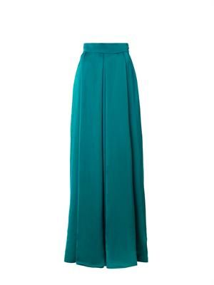 Duchess satin skirt
