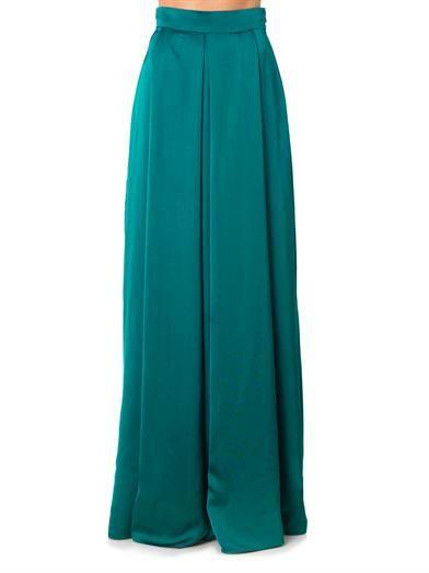Roksanda Duchess satin skirt