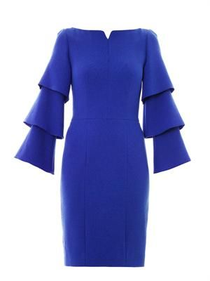 Alcott wool-crepe dress