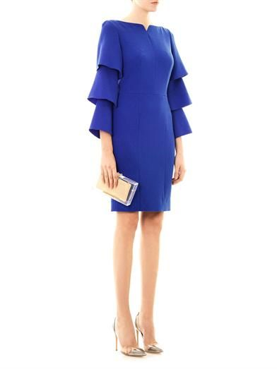 Roksanda Ilincic Alcott wool-crepe dress