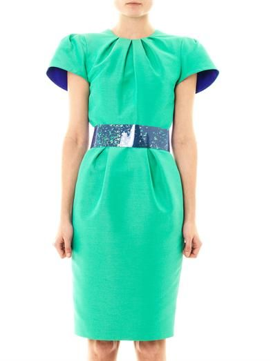 Roksanda Oriel silk dupion dress