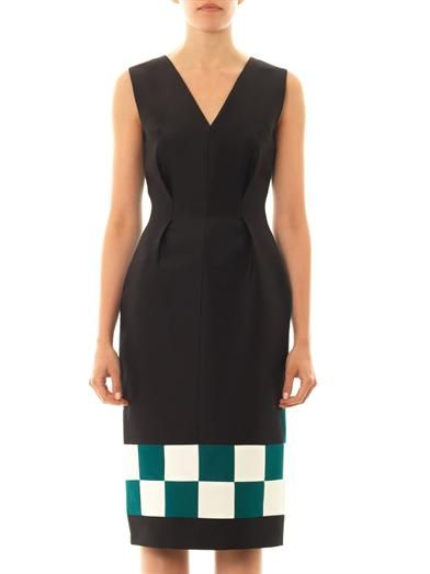 Roksanda Harlton checkerboard dress