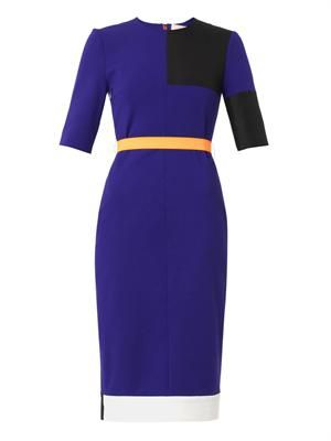 Ellery colour-block dress