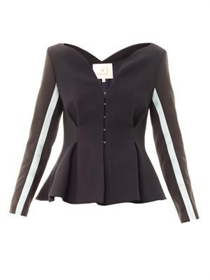 Selby tailored peplum jacket