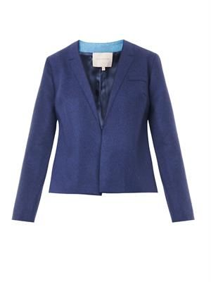 Delmore felted-wool jacket