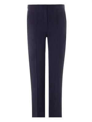 Montague tailored crepe trousers