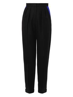 Marres contrast-pocket tailored trousers