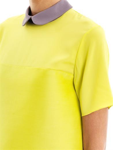Roksanda Estes silk-crepe collar blouse