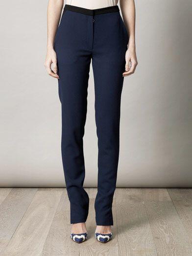 Roksanda Ilincic Fluid crepe trousers