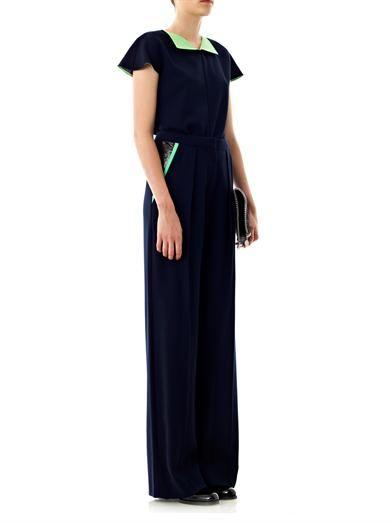 Roksanda Chapman wide-leg crepe trousers