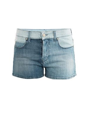 Slouch low-rise shorts