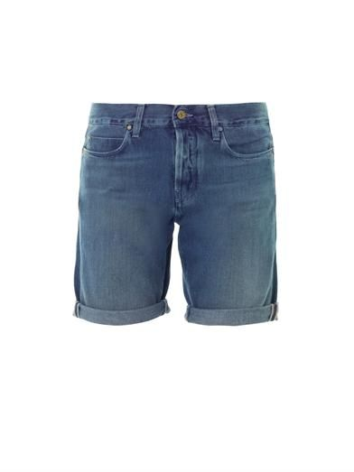 MiH Jeans London boy cropped shorts
