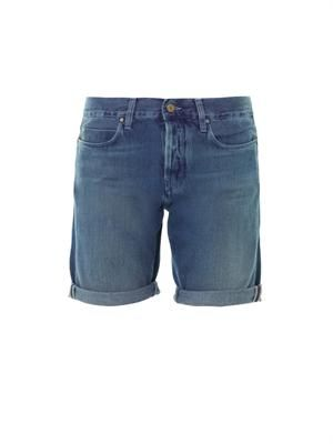 London boy cropped shorts