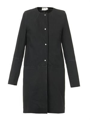 The Slim popper coat