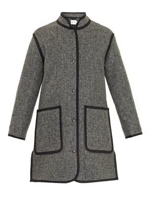 The Blanket wool-blend coat