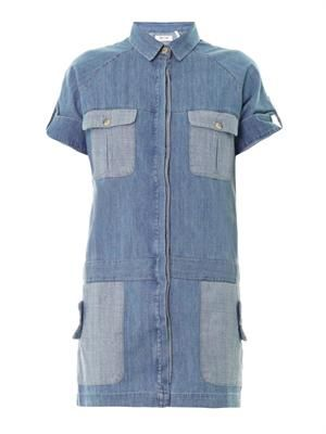 The Patch Pocket denim dress