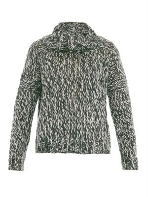Leon mohair-blend sweater