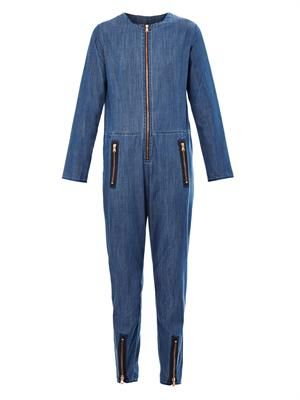 The Simple denim boiler suit