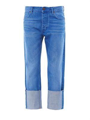 Phoebe mid-rise boyfriend jeans