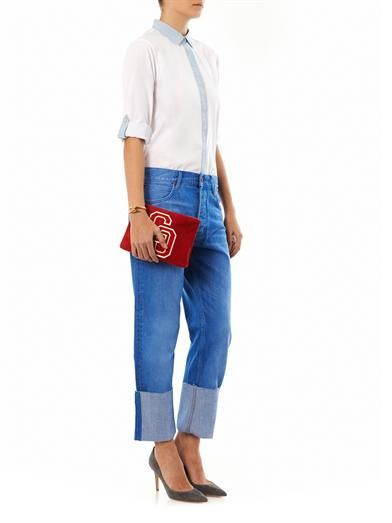 MiH Jeans Phoebe mid-rise boyfriend jeans
