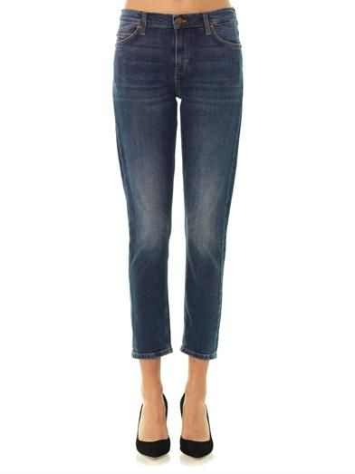 MiH Jeans The Tomboy mid-rise boyfriend jeans