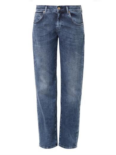 MiH Jeans The Manchester low-slung boyfriend jeans