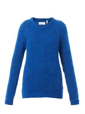 The Waffle mohair-blend sweater
