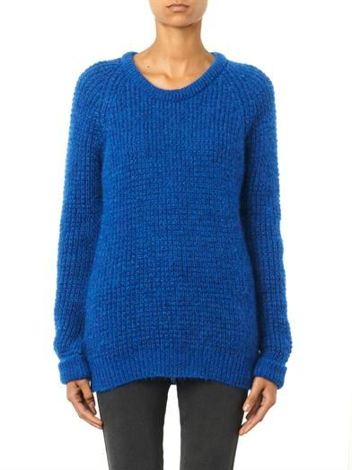 MiH Jeans The Waffle mohair-blend sweater