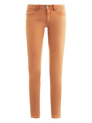 Breathless low-rise skinny jeans