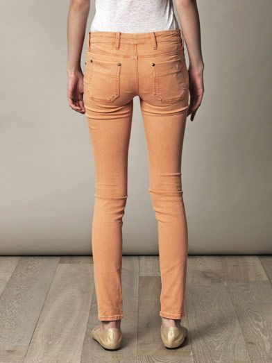 MiH Jeans Breathless low-rise skinny jeans