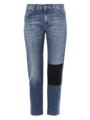 The Phoebe Slim low-slung boyfriend jeans