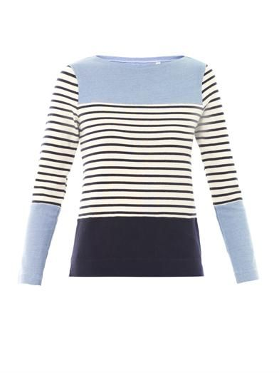 MiH Jeans Breton stripe cotton sweater