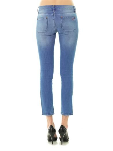 MiH Jeans Paris mid-rise cropped skinny jeans