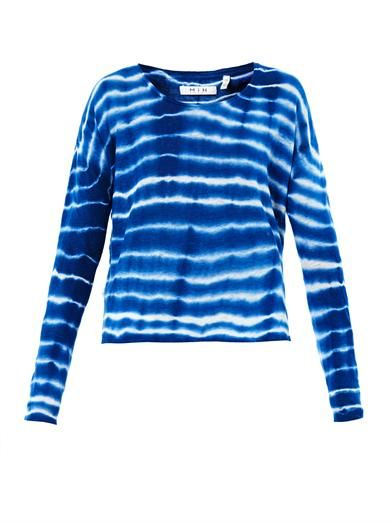 MiH Jeans Tie-dye long-sleeved T-shirt