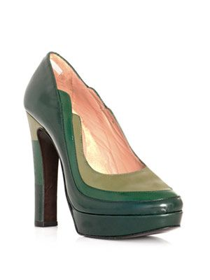 Lorna colour-block shoes